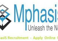 MphasiS Recruitment